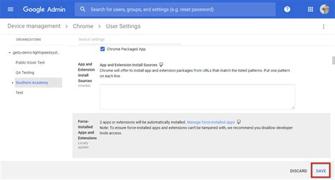 chrome mobile extensions redeploying the chrome mobile filter extension