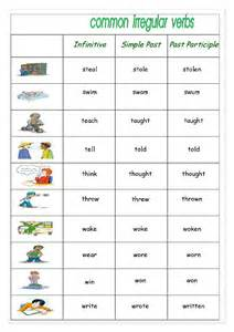common irregular verbs 4