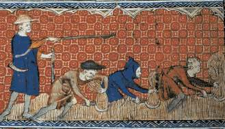 the life of villagers and serfs during medieval times