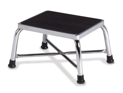 bariatric step stool with two handrails techno aide bariatric single step stool no handrail