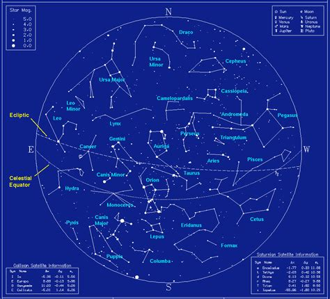 constellations map constellations outer space universe page 2