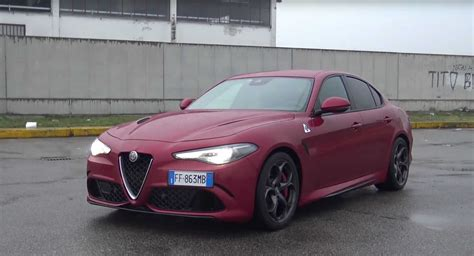 alfa romeo giulia quadrifoglio tuner aftermarket exhaust gives alfa giulia quadrifoglio a like soundtrack carscoops