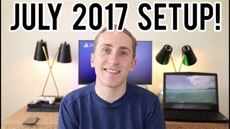 Ultimate Youtuber Setup Giveaway - my youtube and gaming setup july 2017 edition 183 techcheckdaily