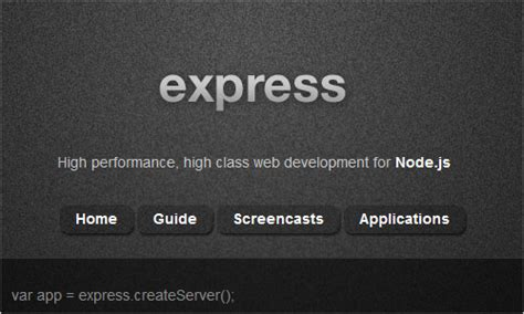 node js express generator tutorial useful node js tools tutorials and resources smashing
