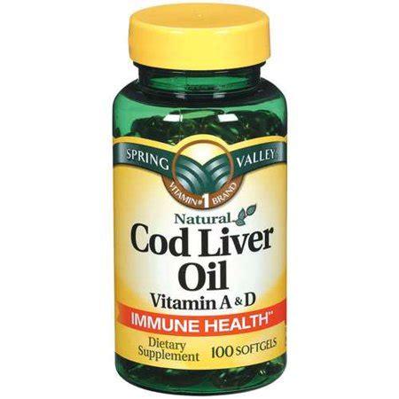 spring valley  liver oil supplement ct walmartcom