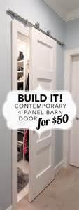 How To Into A Door by Build It 4 Panel Barn Door For 50