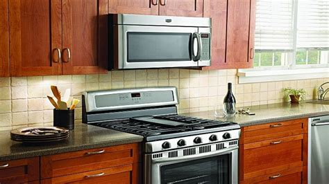 how to install the range microwave without a cabinet install the range microwave bestmicrowave