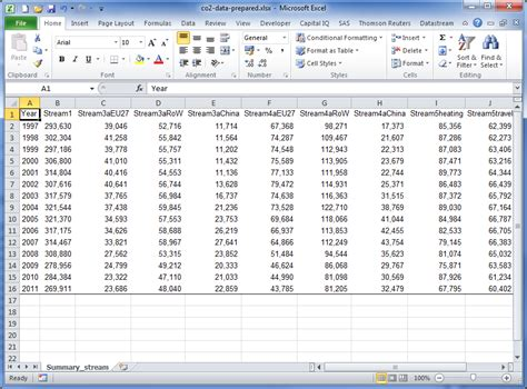 excel file layout importing data into spss statistics part 2 business