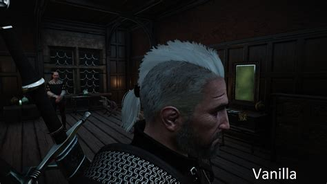 hair works download geralt enhanced wind effect hairworks v2 5 the witcher 3