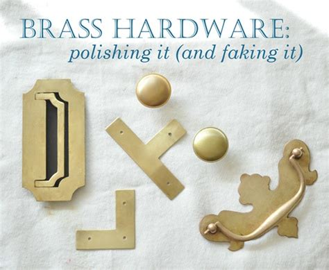 How To Clean Brass Door Knob by Brass Hardware Polishing And Faking It Centsational