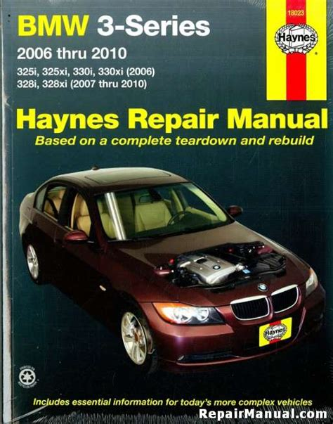 car repair manuals download 2006 bmw 325 user handbook bmw 3 series 2006 2010 automotive service repair manual