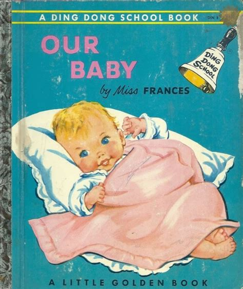 picture book for baby vintage 1950 s children s golden book our baby 1st ed