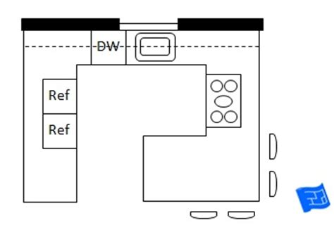 kitchen layout g shape sketch g shaped kitchen