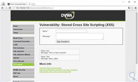 dvwa tutorial xss ataque cross site scripting o xss solvetic