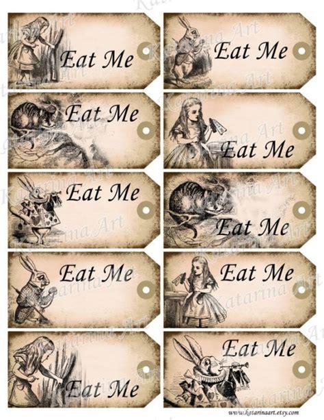 Me Me Me Original - etiquettes alice au pays des merveilles http b imdoc fr