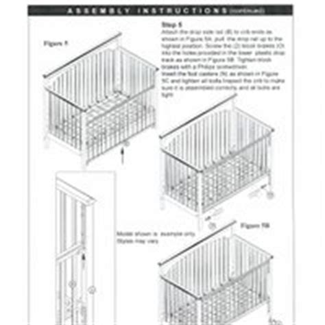 Graco Crib Manual by Graco Crib Assembly By Emily Kenepp