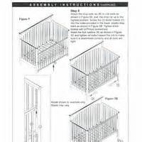 graco crib assembly pictures images