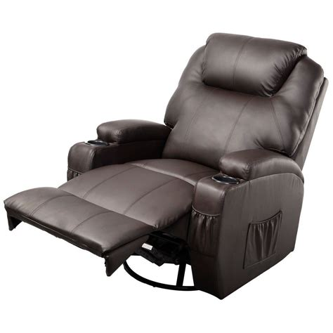 Gym Equipment Ergonomic Heated Massage Recliner Sofa Chair