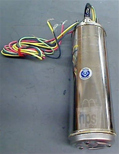 Submersible Motor Only Franklin 1hp 4 1phase Plus Box franklin electric 2345149203 submersible 4 quot 1 5 hp 3