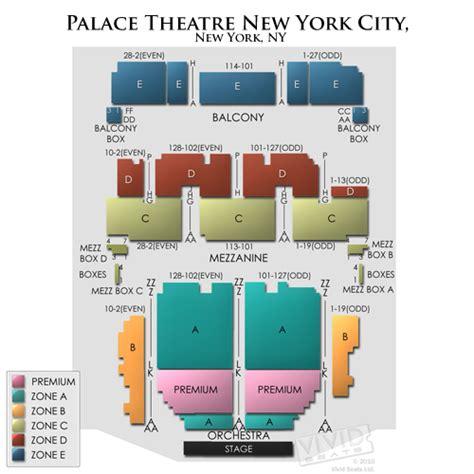 seating chart palace theater nyc palace theatre new york seating chart seats