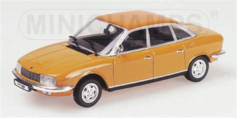 Gama Nsu Ro80 Sedan White 1 43 Scale Diecast Model New minichs 1 43 1972 nsu ro80 diecast zone