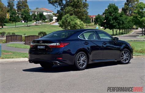 lexus luxury sports 2016 lexus es 350 sports luxury review video