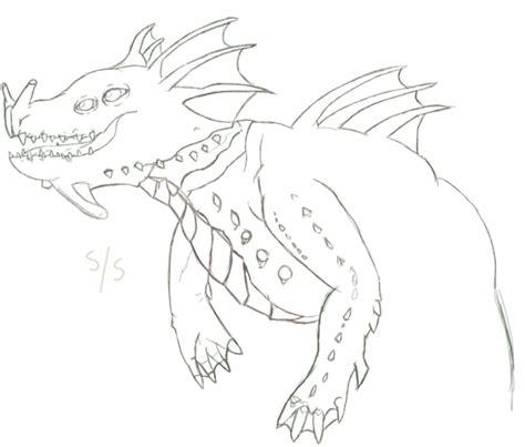 sea dragons coloring pages subnautica sea dragon sketch by scribboskip on deviantart
