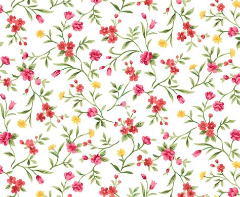 watercolor floral pattern background watercolor floral seamless background vector art