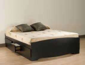 Platform Bed With Storage Underneath Plans Beds With Storage Underneath To Maximize Room