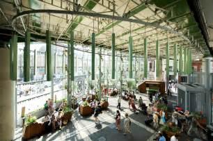 Kitchen Glass Wall market hall events hire borough market