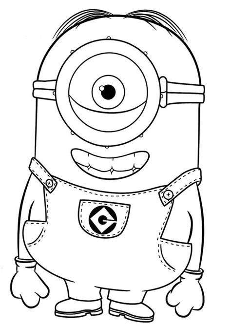 doodle draw minion minions ausmalbilder 17 ausmalbilder