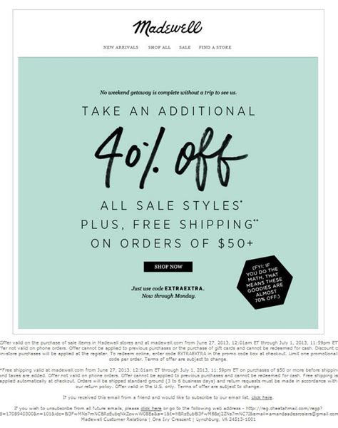 Promo Tas Seling 803 S 17 best images about coupon design ideas on madewell promotion and carnivals