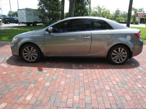 Kia Forte 2 Door Coupe Buy Used 2012 Kia Forte Sx Coupe 2 Door 2 4l In Longwood