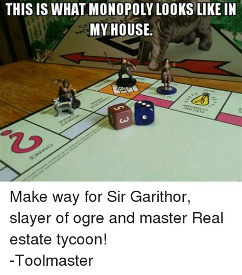 this is what a real house looks like what the flicka this is what monopoly looks like in my house make way for