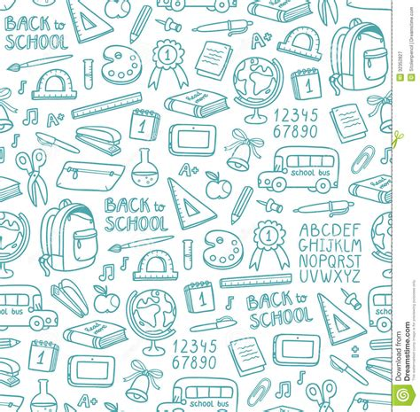 pattern design school school pattern royalty free stock photography image