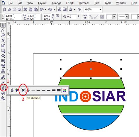 cara membuat pattern pada corel draw tutorial cara membuat logo corel draw blog pns