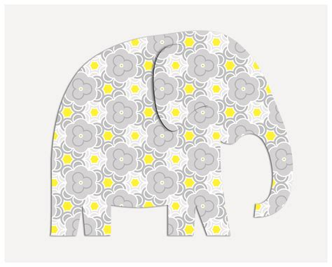 free printable elephant art diy hanging elephant craft mommymaleta