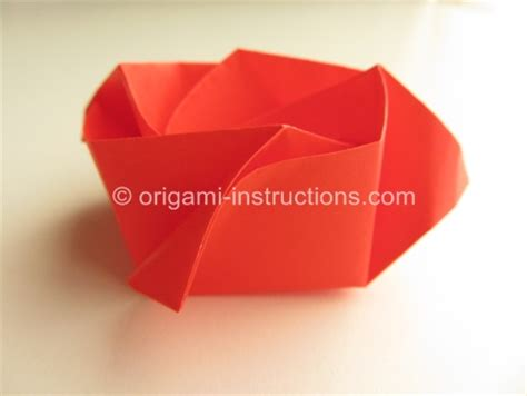 How To Fold A Paper Bowl - origami bowl folding