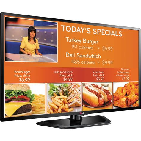 Lg 32 Quot Ezsign Tv For Digital Signage 32ln549e B H Photo Tv Signage Templates