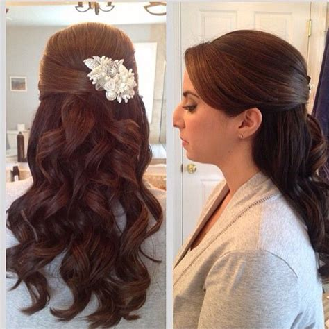 wedding hair half up half curls 15 fabulous half up half wedding hairstyles