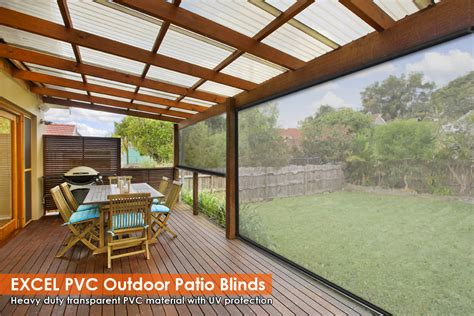 Clear Blinds For Patio 210cm x 240cm heavy duty pvc clear patio cafe blinds outdoor uv protect awning patio blinds