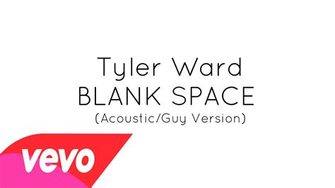blank space version cover blank space ward acoustic