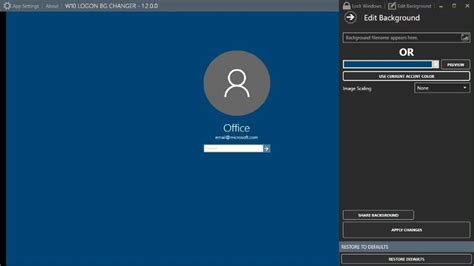 login wallpaper windows 10 change how to change windows 10 login screen background image