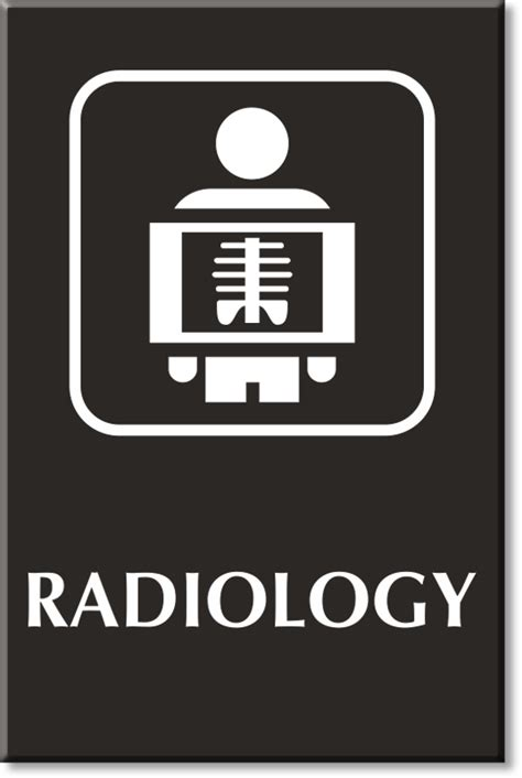 Engraved Desk Sign Radiology Signs Radiology Door Signs