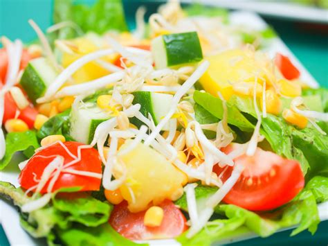 garden salad ideas 3 ways to make a garden salad wikihow