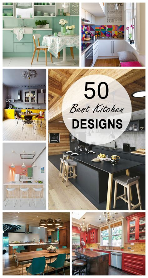 best kitchen design ideas 50 best kitchen design ideas for 2018