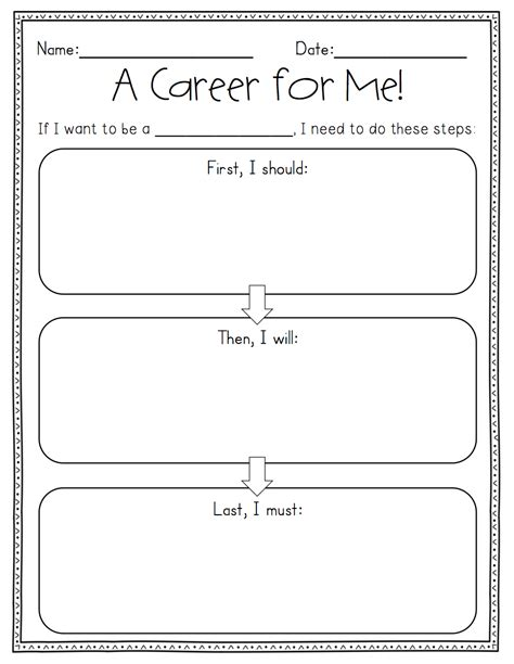Career Day Worksheets by Career Day Activity Sheets Free Cliparts Co