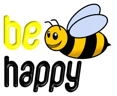 be happy graphics and gif animation for