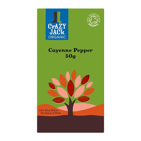 Cayenne Pepper 50g organic cayenne pepper 50g herbs spices planet organic