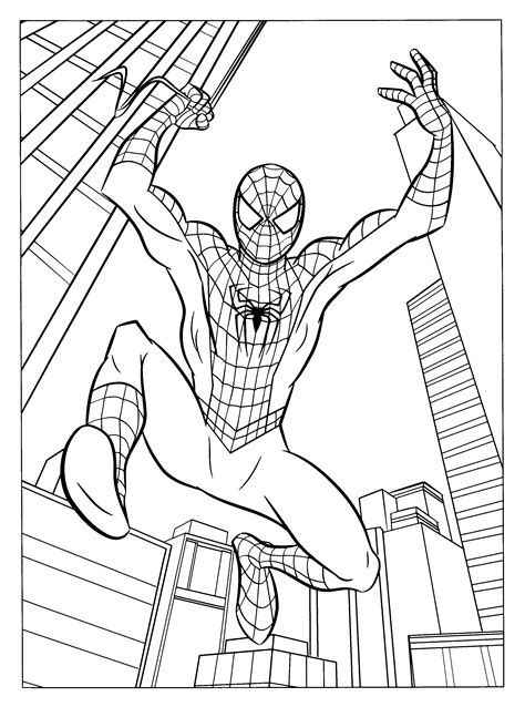 Spiderman 3 Coloring Pages - Coloringpages1001.com
